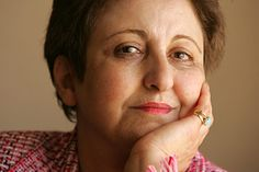 Shirin Ebadi, spent her life fighting for human rights in Iran. First muslim woman and first Iranian to receive the Nobel Peace Prize in 2003. #WINS2012 www.wins2012.org