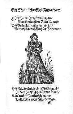 Frauen-Trachtenbuch 018.jpg A noble maiden of Meissen.