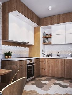 L-shaped kitchenshave a sensible and desirable layout, and thesekitchen conceptsshow learn how to make yourL-shape kitchenwork at its finest and look its best. #lshapedkitchenfloorplans