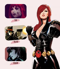 Black Widow by Daniel Acuna