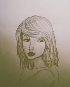 #swift #taylorswift #taylor #sketch #vsco #cool #cute #happy #night #pencil #paint #drawing. Taylor swift