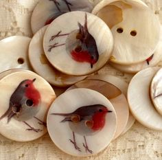 Little Robin Buttons                                                                                                                                                      More