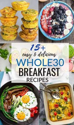 15+ Whole30 Breakfast Recipes