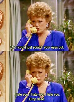 Me & Blanche are a lot alike:)