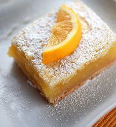 Lemon Bars, love me some lemon bars!