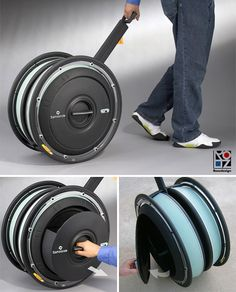 Interesting solution to wheeled luggage.