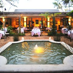 La Colombe Restaurant at Constantia Uitsig Wine Estate - Cape Town, South Africa South African Wine, Top Restaurants, Beautiful Places To Visit, Beautiful Interiors, Cape Town, Live, Around The Worlds, Coffee Shops, Tasting Menu