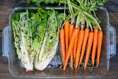 Grilled Rosemary Carrots