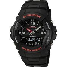 Casio Men's Watch G100-1BV G-Shock Classic Analog Digital Sport Watch