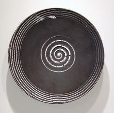 Robert Sperry - PLATE #717, 1986 Stoneware and glaze, 28 x 28 x 4 inches