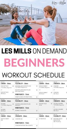 Looking to start your fitness journey? You'll love LES MILLS for beginners workouts that you can do at home! Keep reading to find a plan that works for you! Lose of Fat Every 72 Hours! Learn the Fast Weight Loss 20 Min Cardio Workout, Beginner Workout At Home, Workout Songs, Hard Workout, Workout Schedule, Workout For Beginners, Workout Challenge, At Home Workouts, Beginner Workouts
