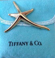 Tiffany Elsa Peretti Starfish brooch