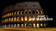 When in Rome - Top Things to do in Rome