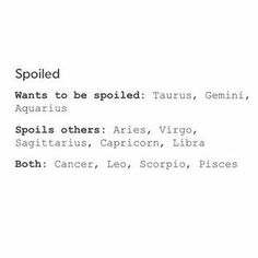 Not sure if I really want to be spoiled, but I know I definitely spoil others