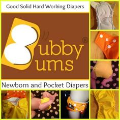 BubbyBum Diaper Giveaway | Parenting Patch: Enter to win three (3) newborn all-in-ones, pocket diapers, or trainers from BubbyBums. Open to legal residents of the United States of America and Canada. Ends on September 2, 2014.