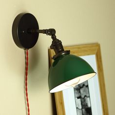 Industrial Articulating Wall Sconce Lighting  by BlueMoonLights
