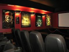 Lighted Movie Poster Frames