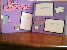 Girly Say Cheese Pre Made 12 x 12 Double Page by aSavvyScrapbooker, $10.00