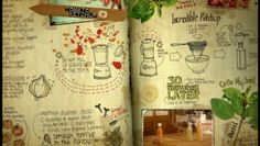 """Playful journaling sketches from the """"Jamie at Home"""" series… <3"""