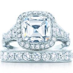 #1!!!!!!!!!  Tiffany & co. engagement & wedding ring !