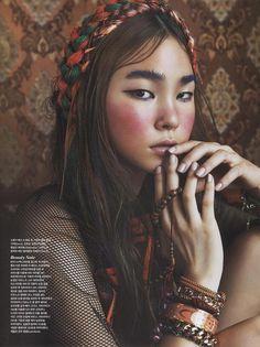 Vogue Korea's 'A Nomad In Tibet' Editorial