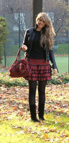 The Vanity Secret: Stile Tartan - Il Fashion Dello Stile College