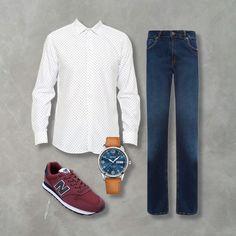 Combo, moda masculina