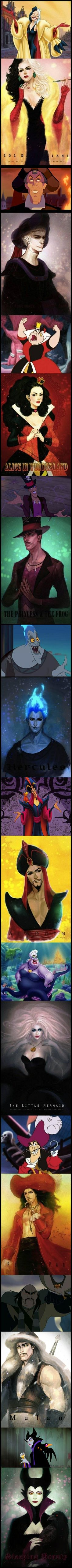 'What if Disney villains were beautiful?'
