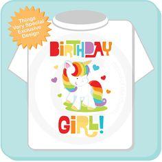 Hey, I found this really awesome Etsy listing at https://www.etsy.com/listing/176026314/birthday-girl-unicorn-birthday-shirt