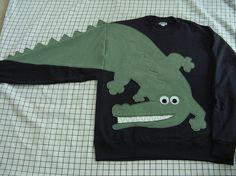 Gator Sweatshirt und Sweatshirt der Alligator Krokodil