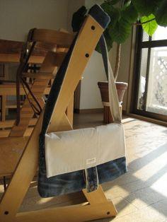 ジーンズリメイク**ショルダーバッグの作り方 リメイク その他 作品カテゴリ ハンドメイド、手作り作品の作り方ならアトリエ