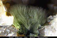 Olivenit Clara Mine, Rankach valley, Oberwolfach, Wolfach, Black Forest, Baden-Württemberg, Germany Copyright © Stoya
