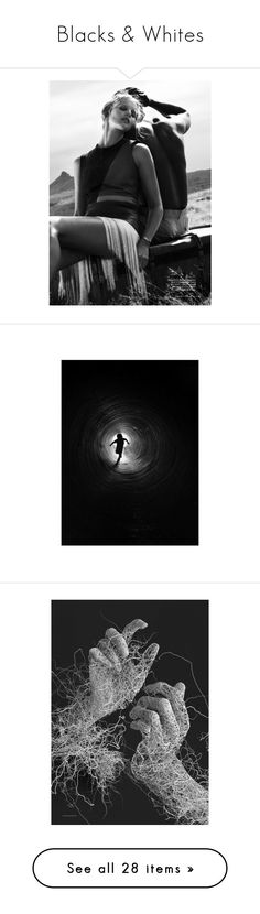"""""""Blacks & Whites"""" by artsdesireable ❤ liked on Polyvore featuring home, home decor, wall art, people, pictures, backgrounds, faces, photo, phrase and quotes"""