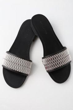 Lulus Oralia Slide Sandal Heels - Lulus 1HCJM