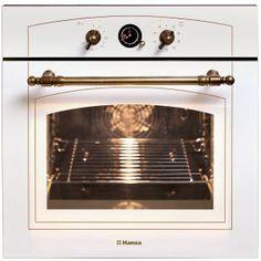 Cuptor incorporabil rustic Hansa BOEW68120090, Electric, Grill, Rotisor, Clasa A, 10 Functii, Bej deschis