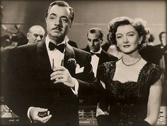 "William Powell and Myrna Loy.  ""The Thin Man."""