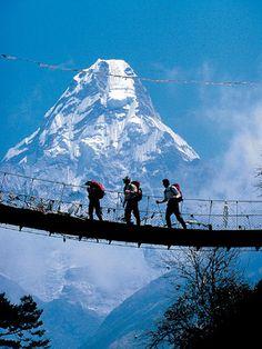 Trek Through Khumbu Nepal to Everest Basecamp with Alpine Ascents