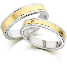 Pair of two-toned gold wedding rings in 2k Gold. Match Made in Heaven D: Using 2k Gold: (it is 10% of 24k gold, much better than sterling silver and has international pawnshop value; it is the strongest mold among all karats of gold) P22,000 or $500 only! Imported, world-class quality, not pre-owned, not pawned, not stolen. We deliver worldwide ♥