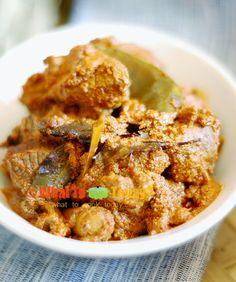 INDONESIAN MEAT RENDANG