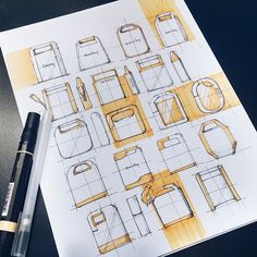 Pen + Paper on Behance