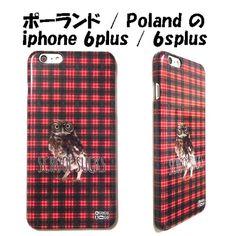 MrGUGU&MissGO ミスターググアンドミスゴー チェック フクロウ School Sucks phone case iphone 6plus / 6splus アイフォン シックス エス プラス ケース 日本初上陸 あいふぉんしっくすぷらす ふくろう カバー あいふぉん6ぷらす 赤いチェック 梟 iphoen6plus 海外 ブランド