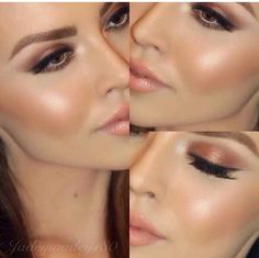 Her face looks very angular.... contouring? Maybe. Maybe not.