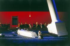 רוני תורן Tannhauser / Wagner 1994  Bayerische Staatsoper , Munchen , Germany Conductor : Zubin Mehta  Director : David Alden Costumes : Buki Shiff Lighting : Pat Cllins Photo : Wilfried Hosl Zubin Mehta, Conductors, Set Design, Opera, Germany, Scene, World, Building, Behance