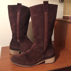 Jeffery Campbell Suede Boots Jeffery Campbell Brown Suede Boots. Size 40...US Size 9. Jeffrey Campbell Shoes Combat & Moto Boots