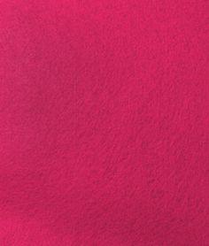 Bright Pink Felt