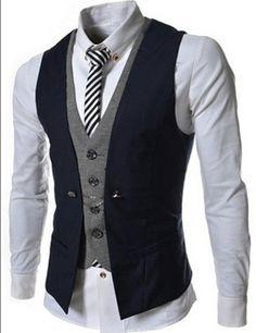 2016 Faux Two Piece Waistcoat