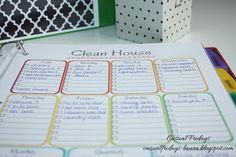 Casual Fridays: Household Binder ~ Keep Organized!