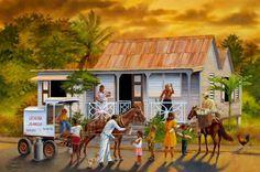 Una bella estampa de mi Puerto Rico.