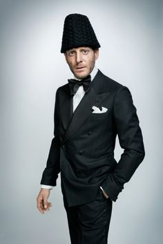 fashionwear4men:  holdhard:  Lapo Elkann in black tie for Russian GQ http://thesnobreport.tumblr.com/post/121089840217