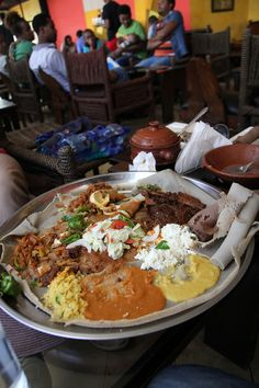 Kategna - A restaurant you shouldnt miss in Addis Ababa - http://migrationology.com/2014/01/kategna-restaurant-addis-ababa-ethiopia/
